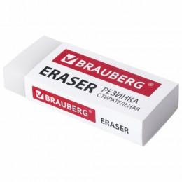 Ластик BRAUBERG EXTRA, 60х24х11 мм, бумажный рукав, ЭКО-ПВХ, 228074