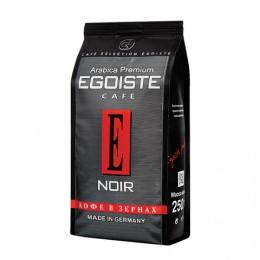 Кофе в зернах EGOISTE Noir, натуральный, 250 г, 100% арабика, вакуумная упаковка, 7348