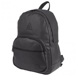 Рюкзак BRAUBERG молодежный, с отделением для ноутбука, Урбан, искусственная кожа, черный, 42х30х15 см, 227084