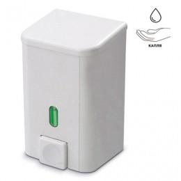 Диспенсер для жидкого мыла PRIMA NOVA, наливной, белый, 1 л, SD03
