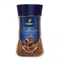 Кофе растворимый TCHIBO Exclusive, сублимированный, 190 г, стеклянная банка, -