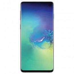 "Смартфон SAMSUNG Galaxy S10, 2 SIM, 6,1"", 4G (LTE), 16/10 + 8 + 12 + 12 Мп, 128 ГБ, аквамарин, металл, SM-G973FZGDSER"