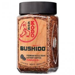 Кофе молотый в растворимом BUSHIDO Kodo, сублимированный, 95 г, 100% арабика, стеклянная банка, BU09509001