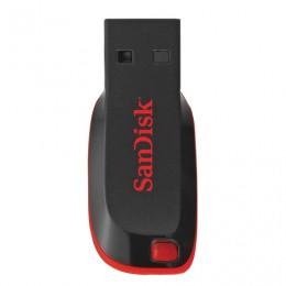 Флэш-диск 16 GB, SANDISK Cruzer Blade, USB 2.0, черный, SDCZ50-016G-B35