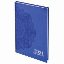 Ежедневник датированный 2021 (145х215мм), А5, STAFF, ламинированная обложка, Дизайн 1, 111816