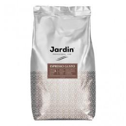 Кофе в зернах JARDIN (Жардин) Espresso Gusto, натуральный, 1000 г, вакуумная упаковка, 0934-08