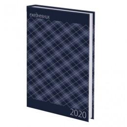 Ежедневник датированный 2020 А5, ламинированная обложка, Офис, 145*215 мм, BRAUBERG, 110914
