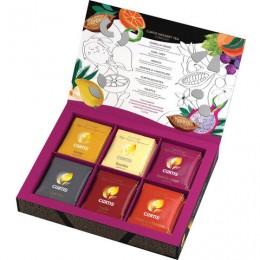 Чай CURTIS (Кёртис) Dessert Tea Collection, набор 30 пакетиков, ассорти (6 вкусов по 5 пакетиков), 58,5 г, 514375