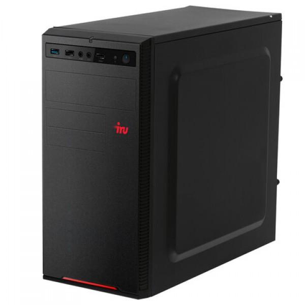 Системный блок IRU 313MT INTEL Core i3-10100F 3,6 ГГц, 8 ГБ, SSD 240 ГБ, Windows 10 HOME, черный, 1469083