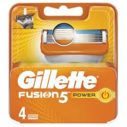 Сменные кассеты для бритья 4 шт., GILLETTE (Жиллет)
