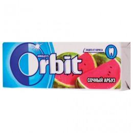 Жевательная резинка ORBIT (Орбит) Сочный арбуз, 10 подушечек, 13,6 г, 42113270