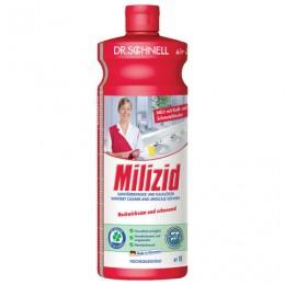 Средство для уборки санитарных помещений 1 л, DR.SCHNELL Milizid (Милицид), кислотное, 143387