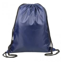 Сумка для обуви ТОП-СПИН для учеников начальной школы, синяя, 43х35 см, 226548