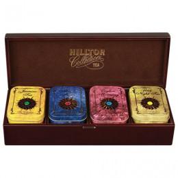 Шкатулка HILLTOP Звездная коллекция, коллекция листового чая в деревянной шкатулке, 220 г, F202