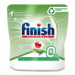 Таблетки для мытья посуды в посудомоечных машинах 42 шт. FINISH GRIN, бесфосфатные, 3137946