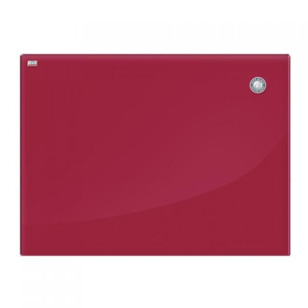 Доска магнитно-маркерная стеклянная 60x80 см, КРАСНАЯ, 2х3 OFFICE, (Польша), TSZ86 R