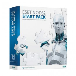 Антивирус ESET NOD32 Start pack, базовый комплект, 1 ПК на 1 год, бокс, ASP-NS(BOX)-1-1