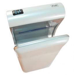 Сушилка для рук PUFF 8870, 2000 Вт, время сушки 10 секунд, погружного типа, пластик, белая, 1401.341