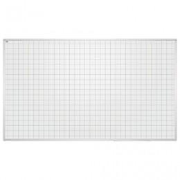 Доска магнитно-маркерная (85x100 см), КЛЕТКА, алюминиевая рамка, EDUCATION, 2х3 (Польша), TSU8510K