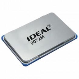 Штемпельная подушка TRODAT IDEAL (110*70 мм), металлическая, синяя, 9072Мс, 153122
