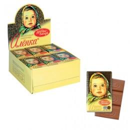 Шоколад КРАСНЫЙ ОКТЯБРЬ Аленка, 15 г, в шоубоксе, КО07747