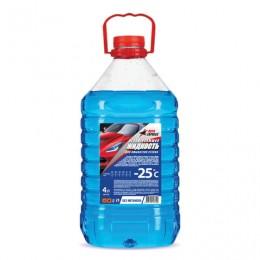 Жидкость незамерзающая 4 л, AUTO EXPRESS, до -25°С, на основе изопропилового спирта (безопасная), ПЭТ, AE1125