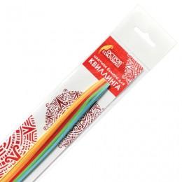 Бумага для квиллинга Яркие цвета, 5 цветов, 100 полос, 5 мм х 300 мм, 80 г/м2, ОСТРОВ СОКРОВИЩ, 128753