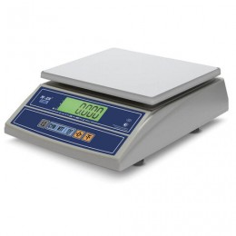 Весы фасовочные MERCURY M-ER 326FL-15.2LCD (0,05-15 кг), дискретность 2 г, платформа 280x235 мм, без стойки