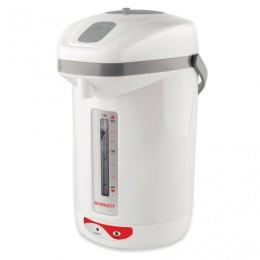 Термопот SCARLETT SC-ET10D12, 2,5 л, 650 Вт, 1 температурный режим, ручной насос, пластик, белый, SC - ET10D12