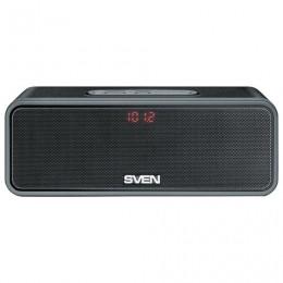 Колонка портативная SVEN PS-170BL, 1.0, 10 Вт, Bluetooth, FM-тюнер, USB, microUSB, черная, SV-014612
