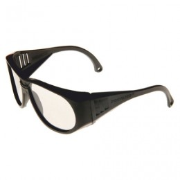 Очки защитные открытые РОСОМЗ О34 Progress, прозрачные, защита от царапин, минеральное стекло, 13410