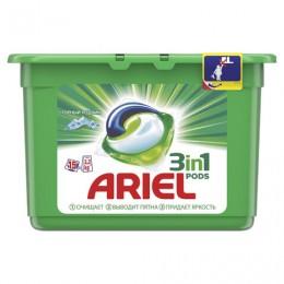 Средство для стирки в капсулах 15 шт. по 27 г ARIEL (Ариэль) Горный родник, 4015600949778