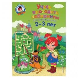 Учусь проходить лабиринты: для детей 2-3 лет. Сафина Ю.А., Родионова Е.А., 903630