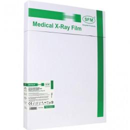 Рентгеновская пленка зеленочувствительная, SFM X-Ray GF, КОМПЛЕКТ 100 л., 30х40 см., 629105