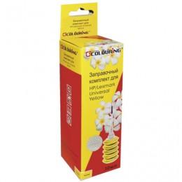 Заправочный комплект COLOURING для HP/LEXMARK универсальный, желтый, 0,03 л, водный, 5180000110