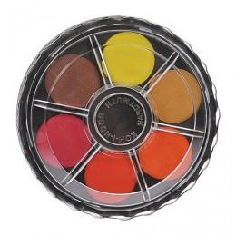 Краски акварельные KOH-I-NOOR, 12 цветов, без кисти, круглая пластиковая коробка, 017150300000