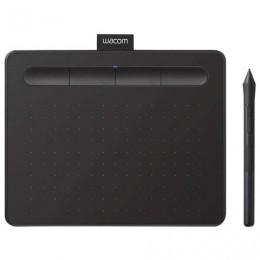 Планшет графический WACOM Intuos S CTL-4100K-N,2540LPI, 4096 уровней,(А6)152х95 ,USB, черный