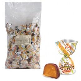 Конфеты шоколадные РОТ ФРОНТ Коровка любимая, кремовая, 1000 г, пакет, РФ13338