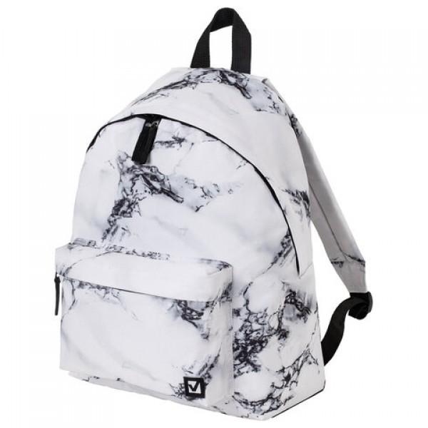 Рюкзак BRAUBERG, универсальный, сити-формат, Marble, 20 литров, 41х32х14 см, 229886