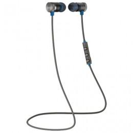 Наушники с микрофоном (гарнитура) DEFENDER OUTFIT B710, Bluetooth, беспроводые, черные с синим, 63711