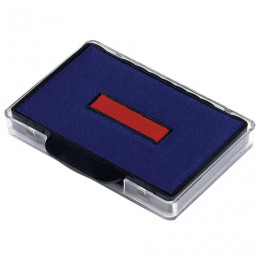 Подушка сменная (68х47 мм) ДЛЯ TRODAT 5480, 5485, сине-красная, 74521