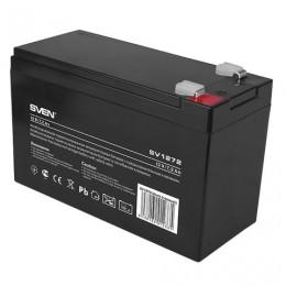 Аккумуляторная батарея для ИБП любых торговых марок, 12 В, 7,2 Ач, 151х65х98 мм, SVEN, SV-012335