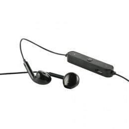 Наушники с микрофоном (гарнитура) RED LINE BHS-01, Bluetooth, беспроводые, черные, УТ000013644