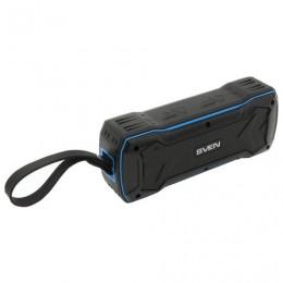 Колонка портативная влагозащищенная SVEN PS-220, 1.0, 10 Вт, Bluetooth, FM, microSD, MP3, черная, SV-016470