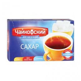Сахар-рафинад Чайкофский, 1 кг (196 кусочков, 15х16х21 мм), высший сорт по ГОСТу, картонная упаковка