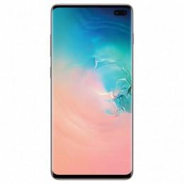 """Смартфон SAMSUNG Galaxy S10+, 2 SIM, 6,4"""", 4G (LTE), 16/10 + 8 + 12 + 12 Мп, 128 ГБ, белый, металл, SM-G975FCWDSER"""