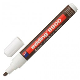 Маркер лаковый для мебели (paint marker) EDDING 8900, ретуширующий, 1,5-2 мм, нитро-основа, грецкий орех антик, E-8900/618