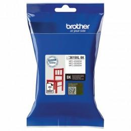 Картридж струйный BROTHER (LC3619XLBK) для MFC-J3530DW/J3930DW, черный, оригин/, ресурс 3000 стр