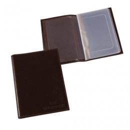 Бумажник водителя BEFLER Грейд, натуральная кожа, тиснение, 6 пластиковых карманов, коричневый, BV.1.-9