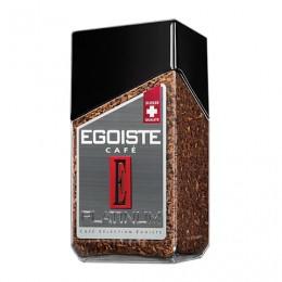 Кофе растворимый EGOISTE Platinum, сублимированный, 100 г, 100% арабика, стеклянная банка, 8467
